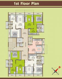 Project Image of 460.0 - 690.0 Sq.ft 1 RK Apartment for buy in Neelkanth Aangan
