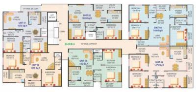 एमआर क्लासिक में खरीदने के लिए 1030.0 - 1470.0 Sq.ft 2 BHK अपार्टमेंट प्रोजेक्ट  की तस्वीर