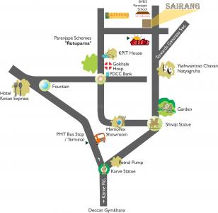 Project Image of 873.0 - 1064.0 Sq.ft 2 BHK Apartment for buy in Paranjape Schemes Sairang