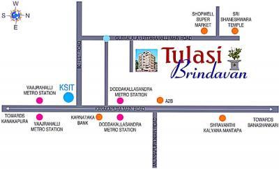 Project Image of 1125.0 - 1225.0 Sq.ft 3 BHK Apartment for buy in Tulasi Brindavan