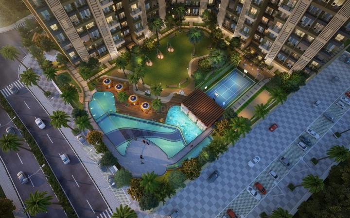 Project Image of 277.17 - 452.3 Sq.ft 1 BHK Apartment for buy in Bhairaav Goldcrest Residency Phase 2