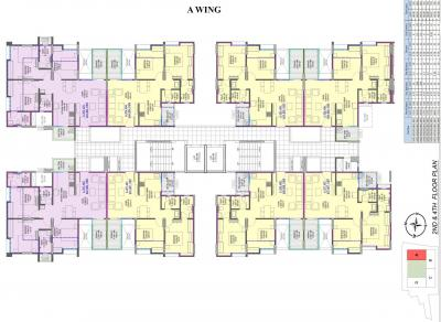 Project Image of 735.0 - 1386.0 Sq.ft 2 BHK Apartment for buy in Ghanwat 19 Grand West Wing A