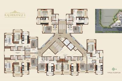 Project Image of 394.71 - 565.54 Sq.ft 1 BHK Apartment for buy in Raj Heritage 1