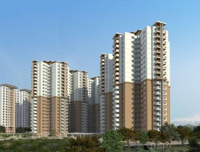 Gallery Cover Image of 1385 Sq.ft 2 BHK Apartment for buy in WebCity, Narayanapura for 9300000