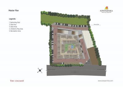 Gallery Cover Image of 1245 Sq.ft 3 BHK Apartment for buy in Sowparnika Columns, Thirumalashettyhally for 6900000