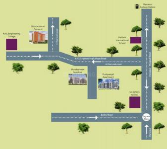 Project Image of 841.96 - 1326.52 Sq.ft 2 BHK Apartment for buy in Mundeshwari Crescent