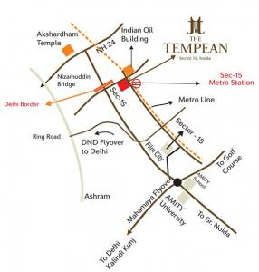 Project Image of 58727.36 - 79523.34 Sq.ft Shop Shop for buy in Aims The Tempean Phase 1