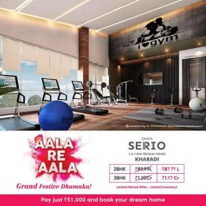 Project Image of 1114.0 - 2636.0 Sq.ft 2 BHK Apartment for buy in Goel Ganga Serio