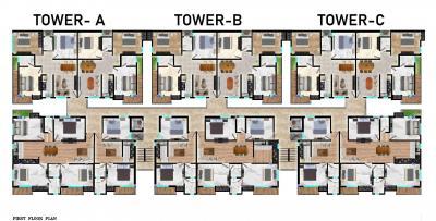 महादेव अपार्टमेंट में खरीदने के लिए 750.0 - 1530.0 Sq.ft 2 BHK अपार्टमेंट प्रोजेक्ट  की तस्वीर