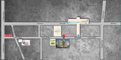 कम्फर्ट केसी दास में खरीदने के लिए 1530.0 - 2930.0 Sq.ft 3 BHK अपार्टमेंट प्रोजेक्ट  की तस्वीर