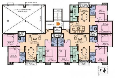 Gallery Cover Image of 1000 Sq.ft 2 BHK Apartment for rent in Manapakkam for 19000