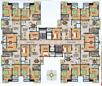 Project Image of 1395 - 1850 Sq.ft 3 BHK Apartment for buy in Aastik Macha Swami Sai Palace