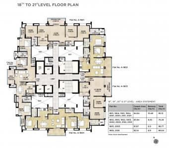 Project Image of 462.0 - 1124.0 Sq.ft 1 BHK Apartment for buy in Kakkad La Vida