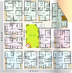 Project Image of 1037 - 1771 Sq.ft 2 BHK Apartment for buy in NDR Sri Sai Krupa Towers