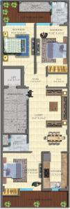 सुरेन्द्र रतन होम्स में खरीदने के लिए 0 - 1200.0 Sq.ft 3 BHK अपार्टमेंट प्रोजेक्ट  की तस्वीर