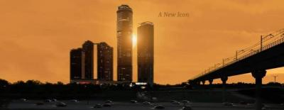 Gallery Cover Image of 1400 Sq.ft 2 BHK Apartment for rent in Supertech Supernova, Sector 94 for 30000