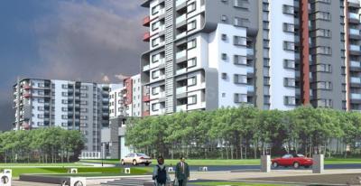Gallery Cover Image of 1212 Sq.ft 2 BHK Apartment for rent in Bren Corporation Bren Avalon, Kartik Nagar for 22000