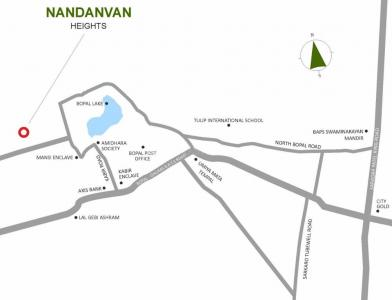 Project Image of 502.0 - 558.0 Sq.ft 2 BHK Apartment for buy in Umiya Nandanvan Heights