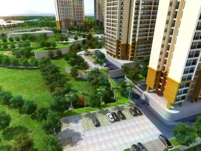 Gallery Cover Image of 1246 Sq.ft 2 BHK Apartment for rent in Indiabulls Greens, Kon for 13000