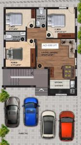 Project Image of 700.0 - 1033.0 Sq.ft 2 BHK Apartment for buy in Viva Veda