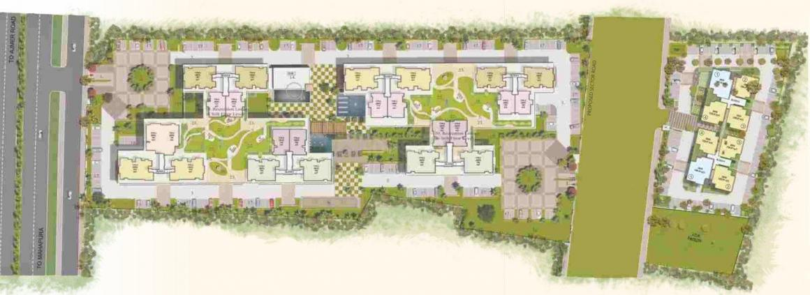 Project Image of 783.83 - 1307.82 Sq.ft 2 BHK Apartment for buy in Mahima Nirvana II