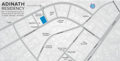Project Image of 1814 - 1818 Sq.ft 3 BHK Apartment for buy in Aavkar Adinath Residency