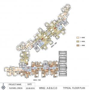 Project Image of 814.0 - 956.0 Sq.ft 2 BHK Apartment for buy in Ruparel Orion