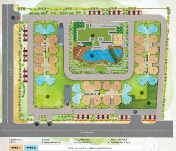 Project Image of 0 - 644.4 Sq.ft 3 BHK Apartment for buy in ABA Coco County