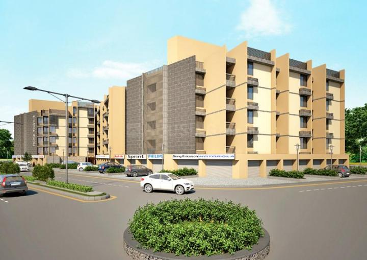 Project Image of 909.0 - 1773.0 Sq.ft 1 BHK Apartment for buy in Prasthan Home Town 3