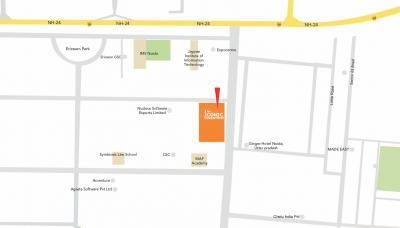 बीवर द आइकोनिक कोरेन्थम में खरीदने के लिए 18.0 - 500.0 Sq.ft Shop शॉप प्रोजेक्ट  की तस्वीर