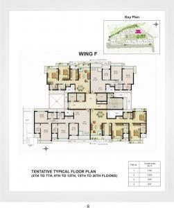 Gallery Cover Image of 2600 Sq.ft 4 BHK Apartment for buy in Vistas, Powai for 51000000