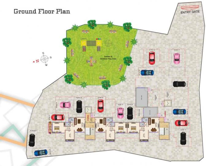 Project Image of 298.0 - 606.0 Sq.ft 1 RK Apartment for buy in Anant Sakshi