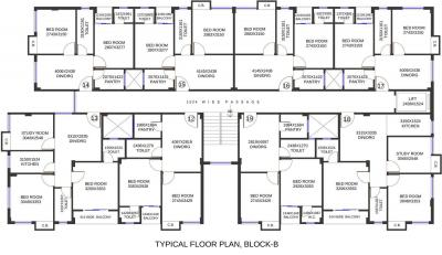 Project Image of 456.0 - 790.0 Sq.ft 2 BHK Apartment for buy in The Indiana