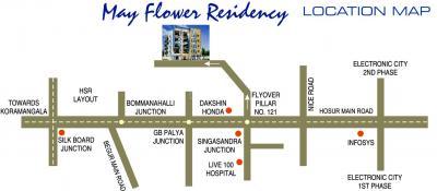 Project Image of 940.0 - 1375.0 Sq.ft 2 BHK Apartment for buy in Laavanya May Flower Reisdency