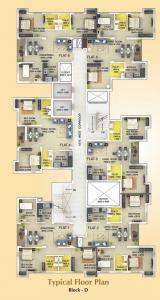 Gallery Cover Image of 777 Sq.ft 2 BHK Apartment for buy in Signum Parkwoods Estate, Mankundu for 2364885