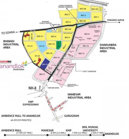 Project Image of 538.0 - 1615.0 Sq.ft Residential Plot Plot for buy in Ansal API Anand Lok