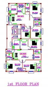 Project Image of 881.0 - 1427.0 Sq.ft 2 BHK Apartment for buy in MC Mithun Durga Flats