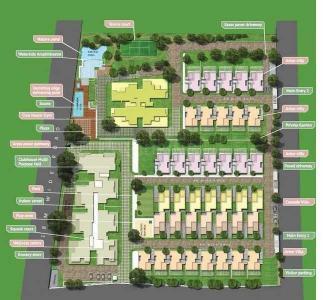 सुकृता आरोहा कोंडोमिनिअम्स में खरीदने के लिए 1604.0 - 3305.0 Sq.ft 3 BHK अपार्टमेंट प्रोजेक्ट  की तस्वीर