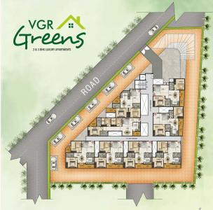 Project Image of 683.55 - 854.933 Sq.ft 2 BHK Apartment for buy in VGR Greens