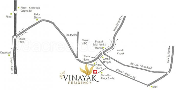 Project Image of 422.91 - 676.08 Sq.ft 1 BHK Apartment for buy in Vinayak Residency