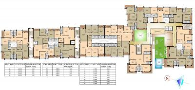 Project Image of 1054.0 - 2713.0 Sq.ft 2 BHK Apartment for buy in Mounthill Fussion Courtyard
