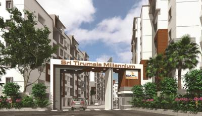 Project Image of 1359.0 - 1629.0 Sq.ft 3 BHK Apartment for buy in EAPL Sri Tirumala Millennium