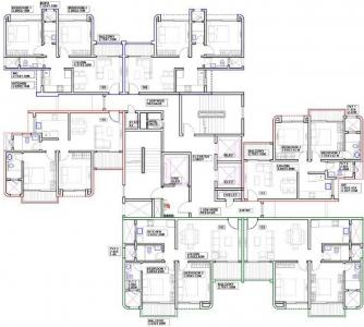 Project Image of 593.2 - 792.55 Sq.ft 2 BHK Apartment for buy in Duville Riverdale Grove