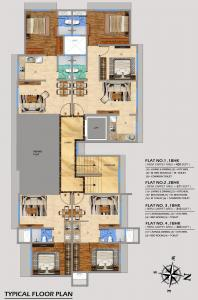Project Image of 303.0 - 571.0 Sq.ft 1 BHK Apartment for buy in Sanghvi Palash