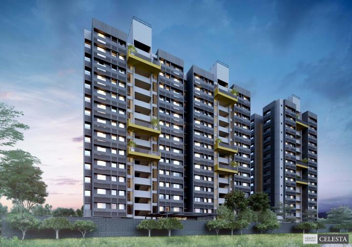 Project Image of 561.88 - 645.19 Sq.ft 2 BHK Apartment for buy in Saanvi Celesta