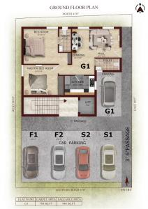 Project Image of 940.0 - 1202.0 Sq.ft 2 BHK Apartment for buy in Signature Oaklyn