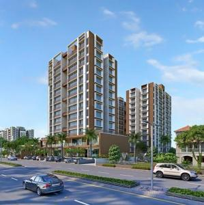 Gallery Cover Image of 1530 Sq.ft 3 BHK Apartment for rent in Savya Skyz , Zundal for 12500