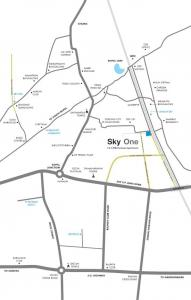 Project Image of 0 - 705 Sq.ft 2 BHK Apartment for buy in Saanvi Sky One