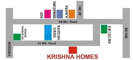 Project Image of 630.0 - 2250.0 Sq.ft Residential Plot Plot for buy in Krishna Homes