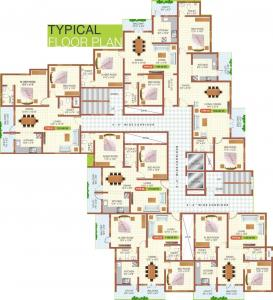 Project Image of 1110.0 - 1335.0 Sq.ft 2 BHK Apartment for buy in Malibu Belezza